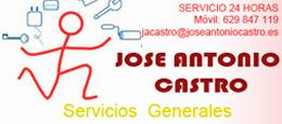SERVICIOS GENERALES - JOSE ANTONIO CASTRO, S.L.